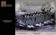 Pegasus Hobbies 7650 LCVP Landungsboot mit Figuren