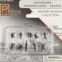 Pegasus Hobbies 854 Moderne US-Army in Nato Uniform, bemalt
