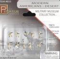 Pegasus Hobbies 855 Moderne US-Army in Wüstenuniform, bemalt