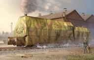 Trumpeter 750219 Germ. Panzerlok BR57 Armoured Loko.