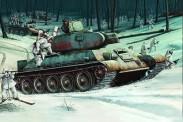 Trumpeter 750905 T34-76 Soviet Tank (1942)
