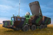 Trumpeter 751043 30N6E Flaplid Radar System