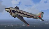 Trumpeter 752829 DC-3 (C-48C) Skytrain Transport Aircraft