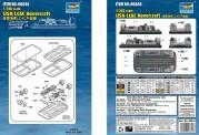 Trumpeter 756644 1/350 USN LCAC Hovercraft