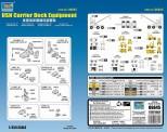 Trumpeter 756645 1/350 USN Träger-Zubehör