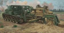 Trumpeter 759502 BZM-3 High-Speed Trench Digging Vehicle