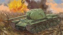Trumpeter 759544 Russian KV-3 Heavy Tank