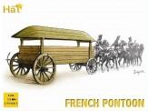 HäT - Hat Toy Soldiers 8108 Französisches Pferdegespann mit Boot