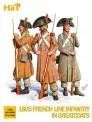 HäT - Hat Toy Soldiers 8146 Fig.Franz.Inft.1805 im Soldatenmantel