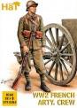 HäT - Hat Toy Soldiers 8162 Französische Artillerie Mannschaft