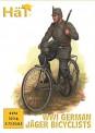 HäT - Hat Toy Soldiers 8276 WWI Deutsche Feldjäger auf Fahrrad
