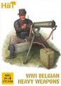 HäT - Hat Toy Soldiers 8291 WWI Schwere Belgische Waffen