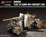 Merit 361701 German Flak 36 88mm Anti-Aircraft Gun