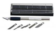 Artesania Latina 900112 Schneidemesser mit Etui und Klingen