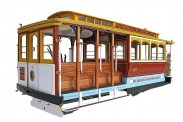 Artesania Latina 900330 San Francisco Cable-Car Powell St.