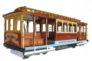 Artesania Latina 900331 San Francisco Cable-Car California St.
