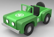 Artesania Latina 900510 My First Kit - Jeep 4x4