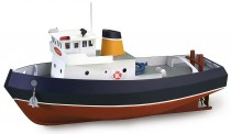 Artesania Latina 900530 Schlepper Samson - Build & Navi