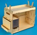 Artesania Latina 907648 Werkzeugbox, Bausatz aus Holz
