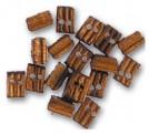 Artesania Latina 908524 Doppel-Block, Walnuss, 3 mm