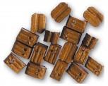 Artesania Latina 908526 Doppel-Block, Walnuss, 5 mm
