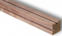 Artesania Latina 909511 Holzstange aus amerikanischer Walnuss
