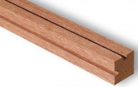 Artesania Latina 909513 Holzstange aus Sapelly