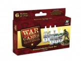 Vallejo 70154 Set: Wargame Deutsche Inf., 6 x 17 ml