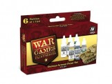 Vallejo 70155 Set: Wargame Deutsche Panzer, 6 x 17 ml