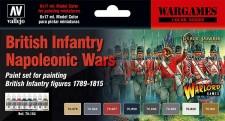 Vallejo 70163 Set: Britische Infanterie, 6 x 17 ml