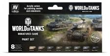 Vallejo 70245 Farb-Set, World of Tanks