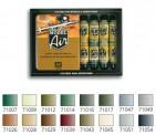 Vallejo 71180 Set: Alliierte Farben, WWII, 16 x 17 ml