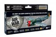 Vallejo 71185 Set: USAAF Luftwaffe, 16 x 17 ml