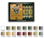 Vallejo 71190 Set: Dt. Farben WWII,16 x 17 ml
