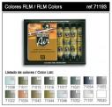 Vallejo 71193 Set: RLM-Farben, 16 x 17 ml