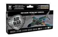 Vallejo 71204 Farb-Set, USAF Vietnam-Krieg, Schema SEA