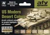 Vallejo 71209 Farbset, moderne US-Wüsten-Farben