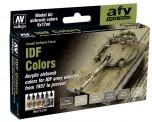 Vallejo 71210 Farbset, IDF 1957 bis heute