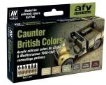 Vallejo 71211 Farbset, Britische Tarnung