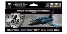 Vallejo 71627 Farbset: WWII Armee de l'Air 8x 17ml