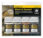 Vallejo 73192 Pigment-Set - Stein und Beton