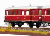 Hansen Trains 800175B Messingbausatz VT 75 mit Beiwagen