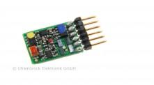 Uhlenbrock 73415 Digitaldecoder N 6-pol. NEM 651