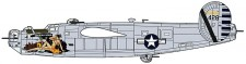 Hasegawa 600559 B-24J Liberator