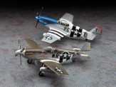 Hasegawa 602054 P-51B Mustang 'D-Day Marking Combo'