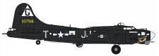 Hasegawa 602276 B17G Flying Fortress Airbone Leaflet