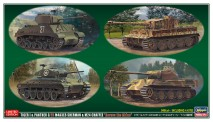 Hasegawa 630035 Panzerset 4 Stück 'über den Rhein'