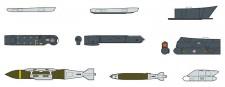 Hasegawa 635114 Aircraft Weapons IX