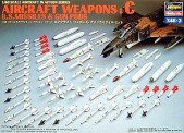 Hasegawa 636003 US Aircraft Weapons C