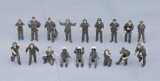 Hasegawa 636005 Moderne US-Army, Piloten und Crew